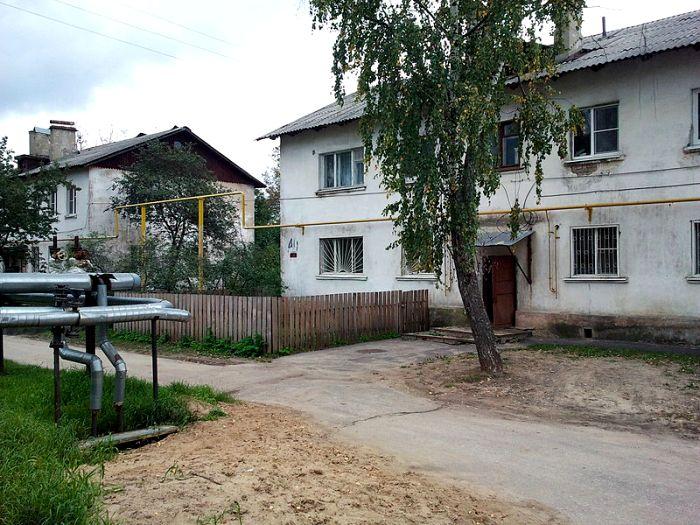 Дома, построенные в рамках «Горьковского» метода в Нижнем Новгороде, современный вид. /Фото: wikipedia.org