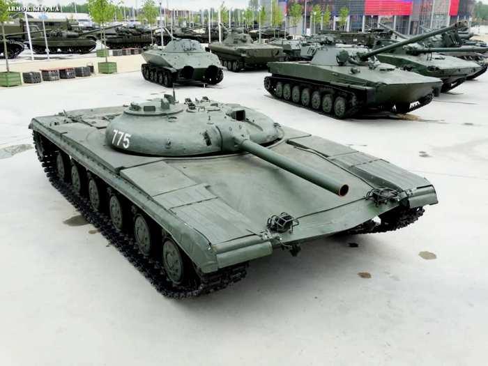 Ракетный танк времен Холодной войны. /Фото: udachnyj-enot.com.ua