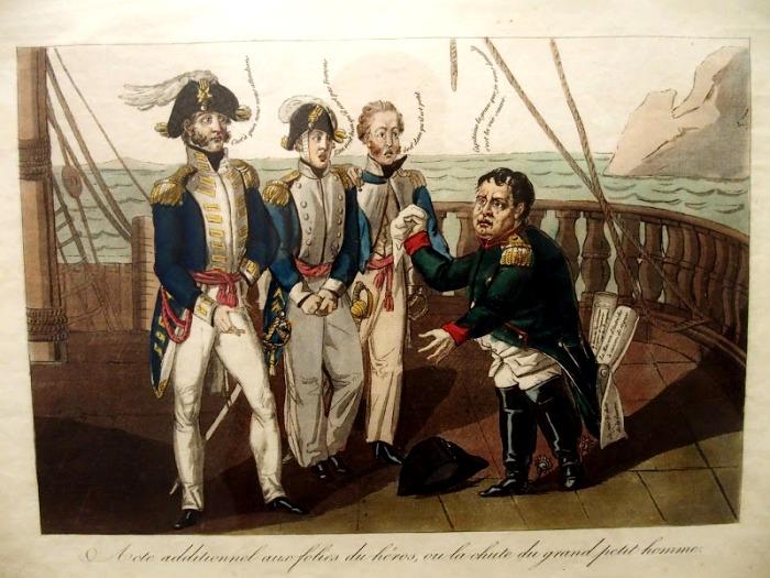 На любой карикатуре Наполеон будет коротышкой. /Фото: livejournal.com