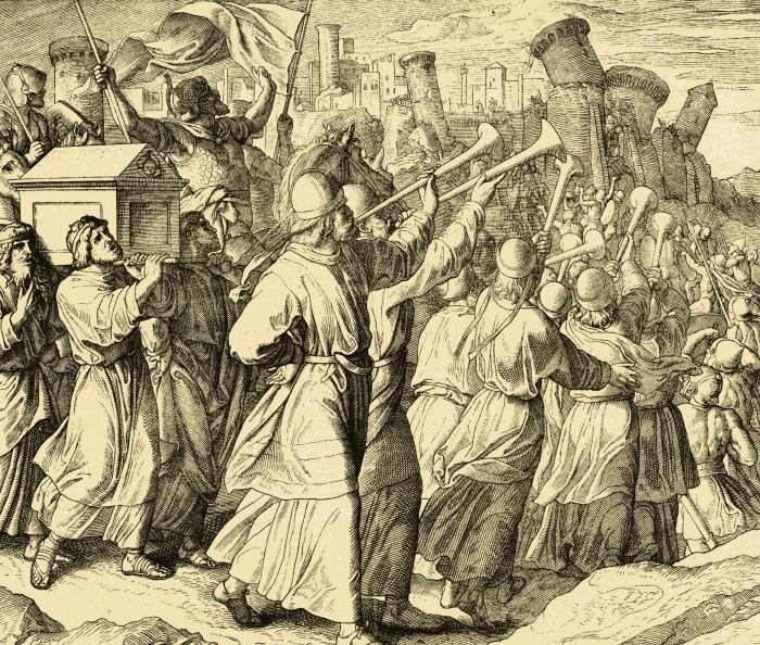 Некоторые считают иерихонскую трубу лишь отвлекающим маневром. /Фото: blogspot.com