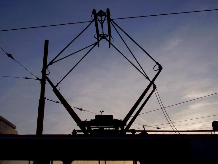 Ромбик на трамвае имеет сразу два названия. /Фото: wikiрedia.org