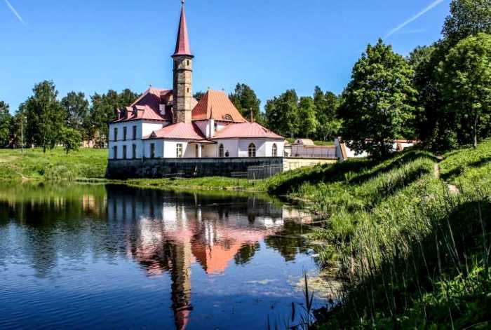 Российская резиденция Мальтийского ордена. /Фото: rogaine-spb.ru