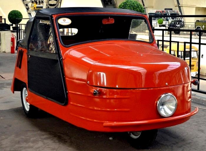 Забавная мотоколяска из пятидесятых. /Фото: автогурман.com
