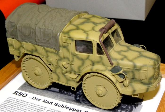 Масштабный макет уникального немецкого тягача. /Фото: wikiрedia.org