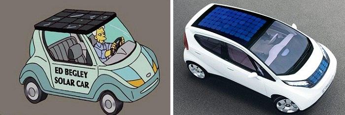 Солнечная машина тоже нашла свое место в культовом мультсериале. /Фото: vk.com