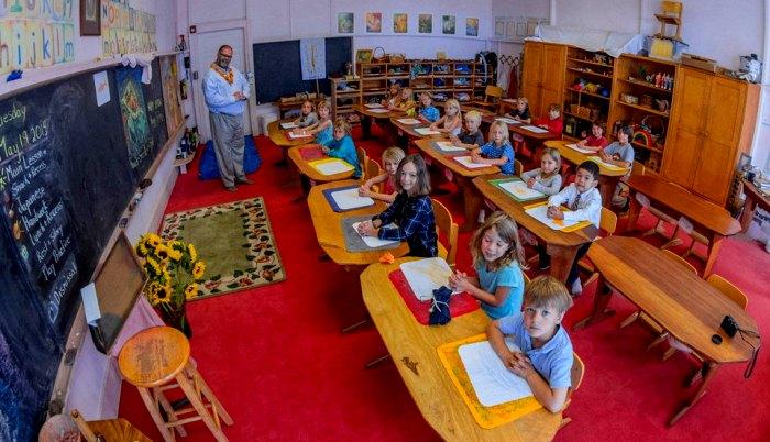 Школа, которую отличают консервативные методы. /Фото: open-education.net