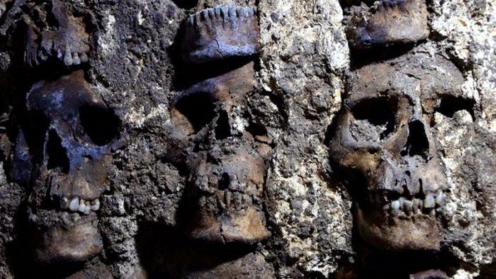 Еще один зловещий след цивилизации ацтеков. /Фото: bbc.com