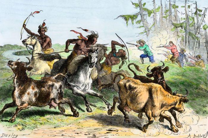 Появление колючей проволоки стало причиной новых столкновений фермеров с индейцами. \Фото: ednews.net