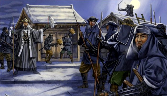 Яри пользовались и самураи, и монахи, и крестьяне. /Фото: straniciistorii.ru