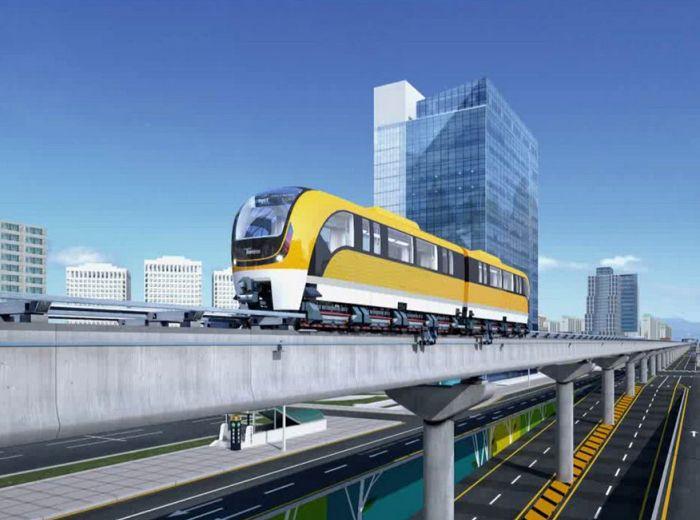 Есть вероятность, что очень скоро летающие поезда появятся не только в Китае, но и в России. /Фото: spbdnevnik.ru