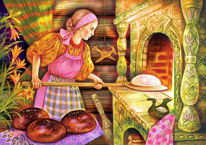 Хлеб был всегда, но тысячу лет назад - чуть другой. /Фото: liveinternet.ru
