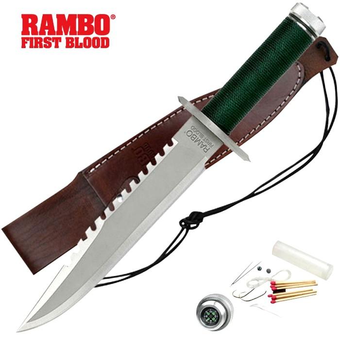 Нож, который зрители увидели в первом фильме о Рэмбо. /Фото: spartanknives.com