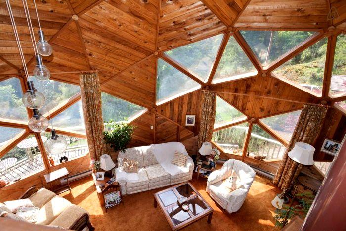 Простые сооружения с комфортными условиями внутри. /Фото: pinterest.com