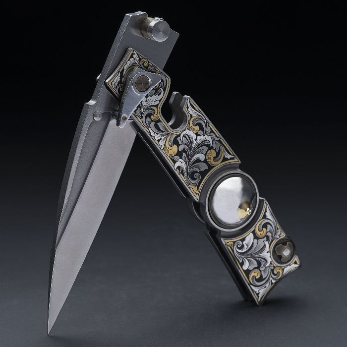 Нож должен быть рабочим и безопасным. /Фото: pinterest.ru