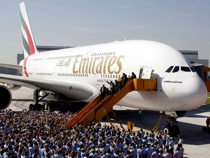 А380 еще будут летать, но собирать их больше не станут. /Фото: samoleting.ru