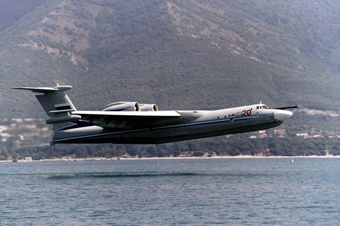 Советский самолет-амфибия был самым большим на планете. /Фото: navy.su
