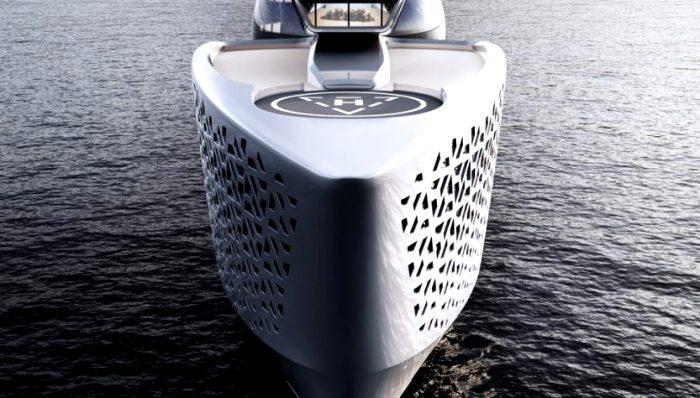 Огромная яхта для научных исследований. /Фото: localcode.org