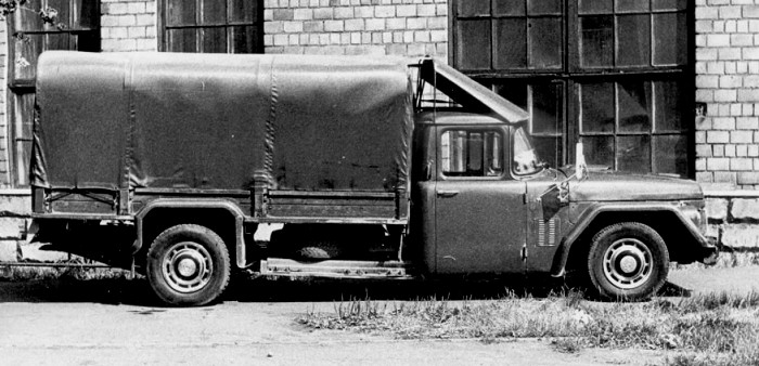 Скоростной грузовик ЗИЛ 113Г, вид сбоку. /Фото: 5koleso.ru