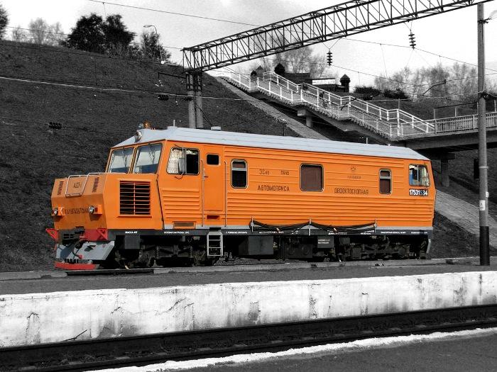 Автомотриса дефектоскопная АДЭ-1 № 053. /Фото: train-photo.ru