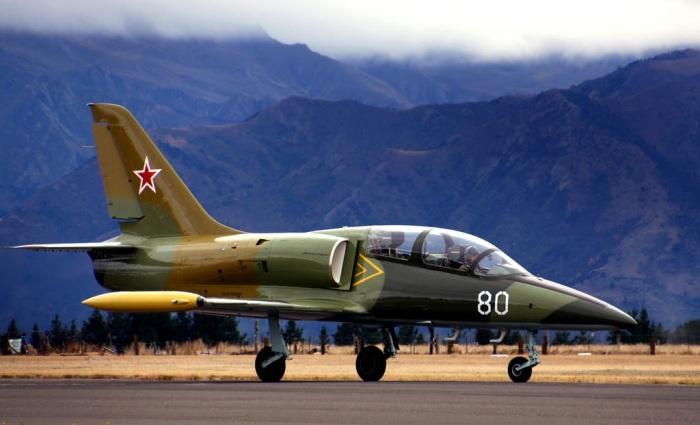 Реактивный учебно-боевой самолет L-39 Альбатрос. /Фото: militaryarms.ru