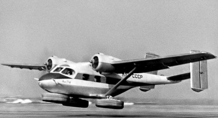 Ан-714 во время экспериментальных полетов. /Фото: airwar.ru
