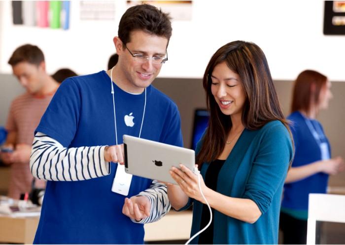 В знаменитом «яблоке» спрашивают о прошлом и будущем компании. /Фото: thetestpit.com
