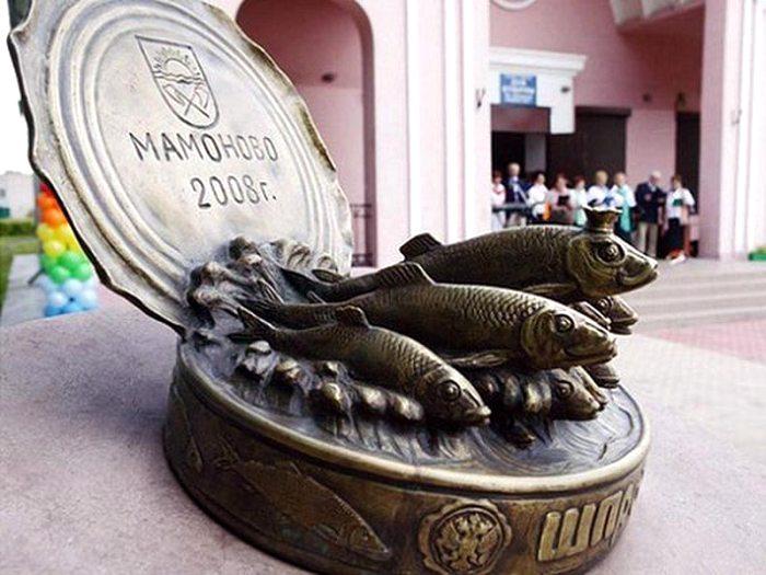Отечество полно памятниками самой разной еде. /Фото: atorus.ru
