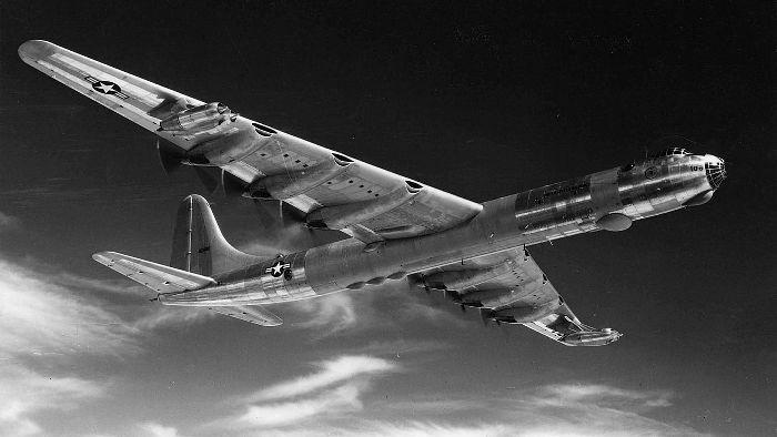 Бомбардировщик с самыми большими крыльями. /Фото: thoughtco.com