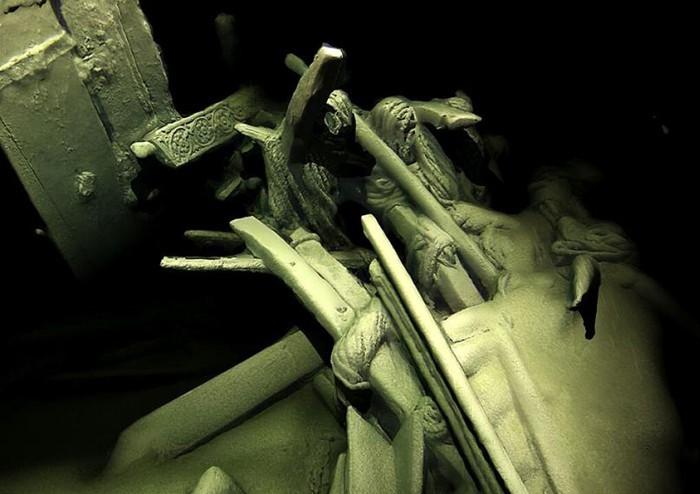 Артефакты на кораблях также отлично сохранились. /Фото: privetsochi.ru