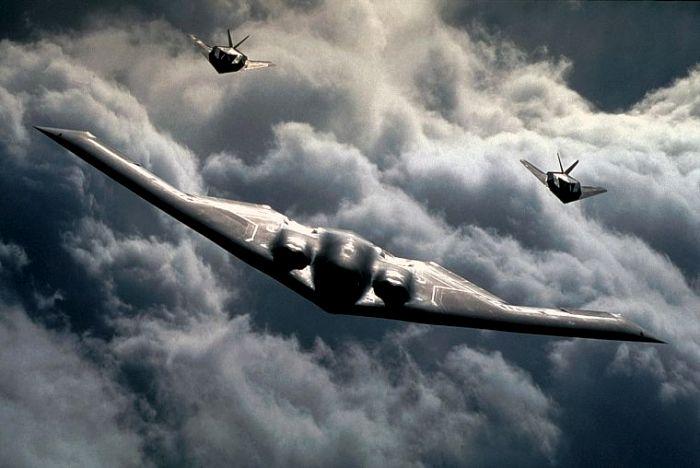 В череде концептов стелс-самолетов появился еще один. /Фото: oboi7.com