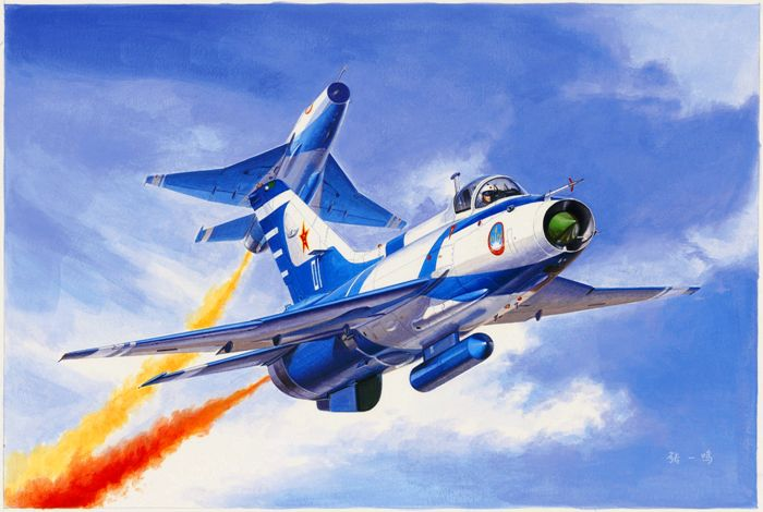 Немало китайский истребителей берут начало от МиГ-21. /Фото: pinterest.de