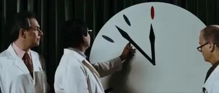 Каждый год Часы показывают новое время. /Фото: coub.com