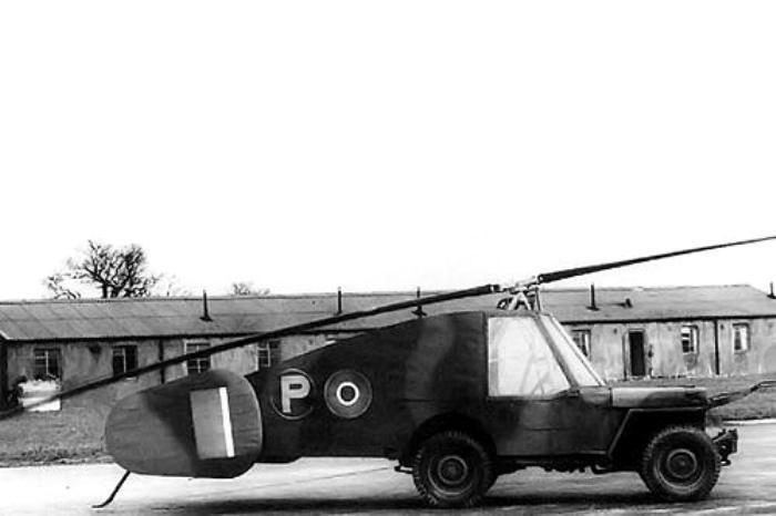 Один из проектов летающего автомобиля. /Фото: reddit.com