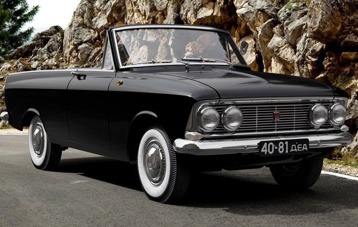 Красивый советский концепт-кар для иностранных автомобилистов. /Фото: silver.ru