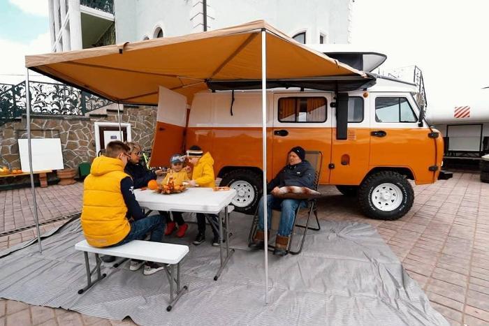 Современный кемпер в «Буханке» - для всех желающих. /Фото: news-term.net