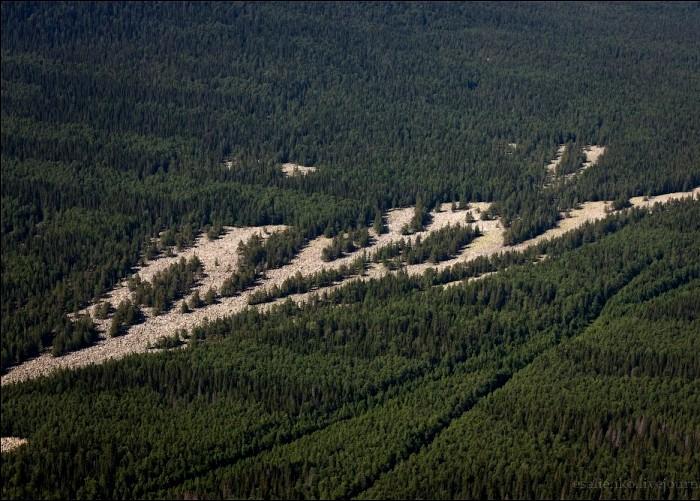 Действительно похоже на реку. /Фото: pochel.ru