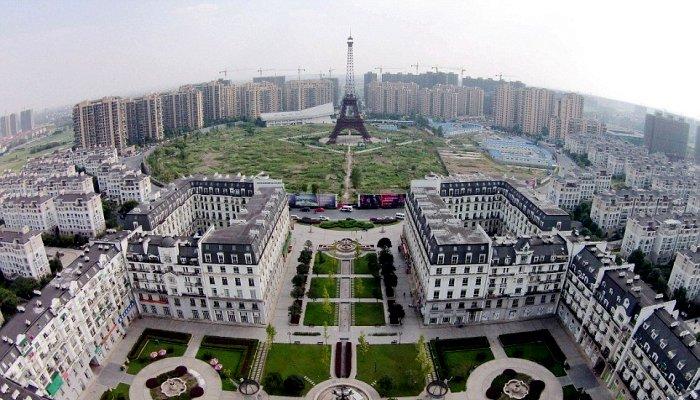 Оказывается, в Китае есть свой...Париж. /Фото: onetwotrip.com