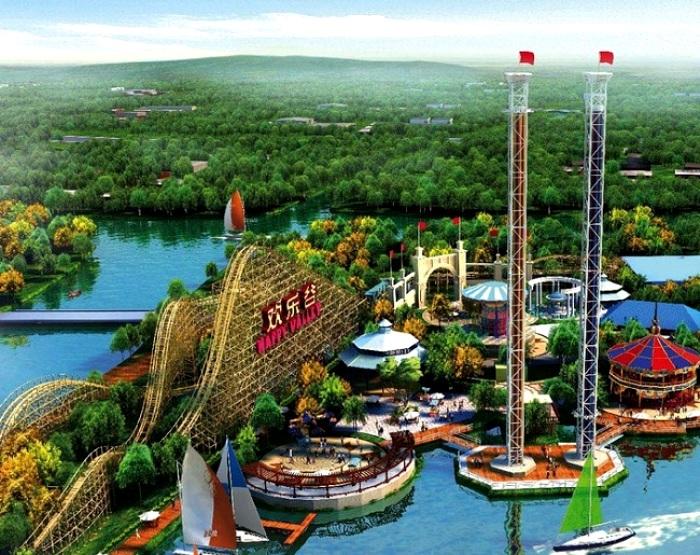 Китайский Диснейленд. /Фото: china-sky.ru