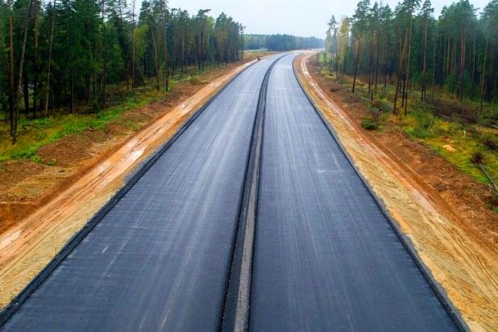 Еще одно крупное строительство дороги в Московской области. /Фото: gge.ru