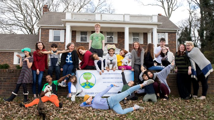 Иногда учеба проходит  даже без учителей. /Фото: nashvillesudburyschool.org