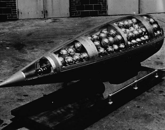 Один из самых смертоносных боеприпасов. /Фото: wikipedia.org