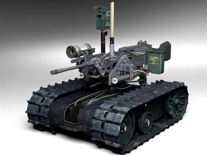 Неудачная попытка создать боевого робота. /Фото: popmech.ru