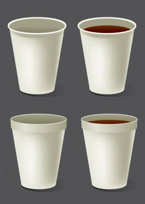 Пенопластовые чашки откровенно вредные. /Фото: depositphotos.com