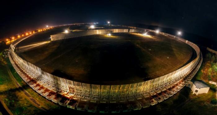 Панорама РАТАН-600 в ночное время суток. /Фото: depositphotos.com