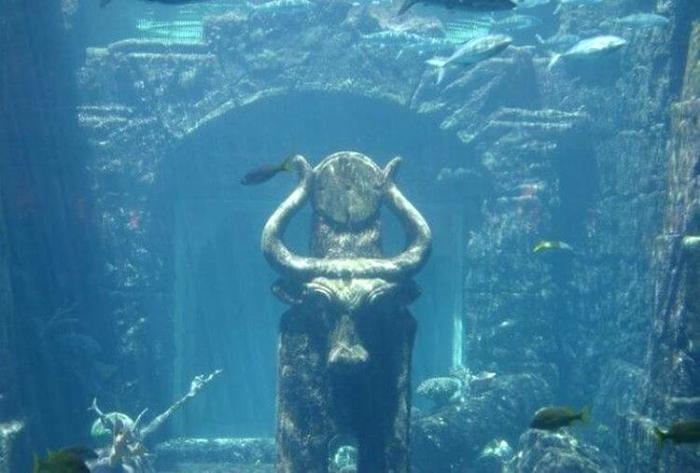 Легендарный город, найденный под водой. /Фото: hopop.ru