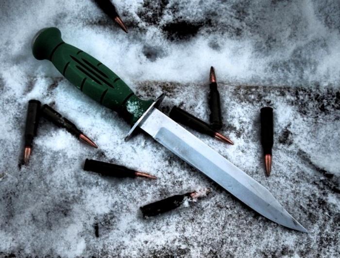 Зеленая пластиковая рукоятка - визитная карточка легендарного советского ножа. /Фото: vk.com