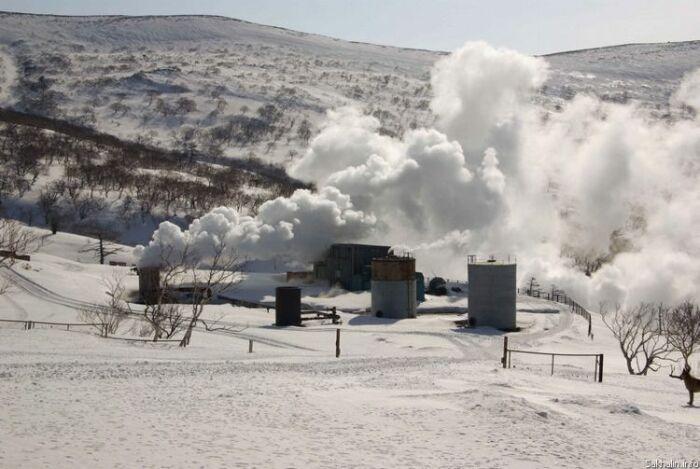 Геотермальная станция, незадолго до аварии. /Фото: sakhalin.info