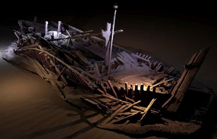Больше полусотни кораблей найдено археологами в Черном море. /Фото: privetsochi.ru