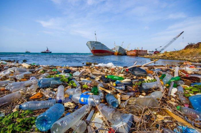 И с кораблей, и с суши сбрасывается огромное количество мусора. /Фото: naked-science.ru