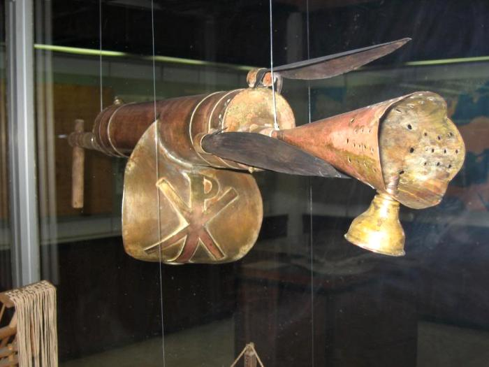Первый огнемет придумали именно греки. /Фото: wordpress.com